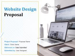 Website Design Proposal Powerpoint Presentation Slides