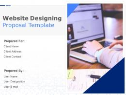 Website Designing Proposal Template Powerpoint Presentation Slides