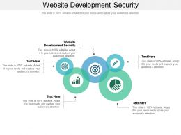 Website Development Security Ppt Powerpoint Presentation Styles Graphic Images