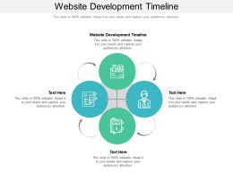 Website Development Timeline Ppt Powerpoint Presentation Icon Example Introduction