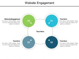 Website Engagement Ppt Powerpoint Presentation Icon Layout Ideas Cpb