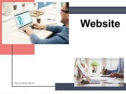 Website Financial Business Analyst Ecommerce Information