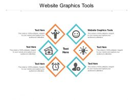 Website Graphics Tools Ppt Powerpoint Presentation Gallery Graphic Images Cpb