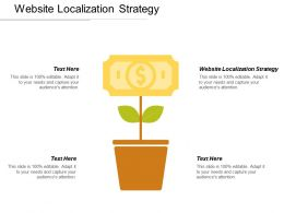 Website Localization Strategy Ppt Powerpoint Presentation Styles Infographic Template Cpb