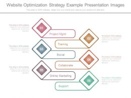 Website Optimization Strategy Example Presentation Images
