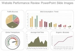 Website Performance Review Powerpoint Slide Images