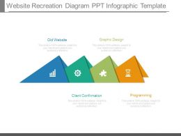 Website Recreation Diagram Ppt Infographic Template