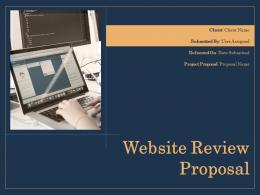 Website Review Proposal Powerpoint Presentation Slides