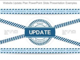 Website Update Plan Powerpoint Slide Presentation Examples