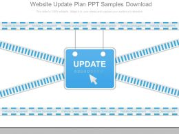 Website Update Plan Ppt Samples Download