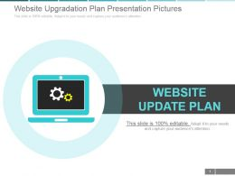 Website Upgradation Plan Presentation Pictures
