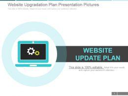 Website Upgradation Plan Presentation Pictures