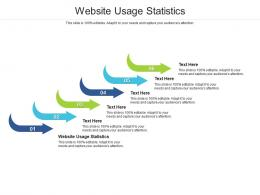 Website Usage Statistics Ppt Powerpoint Presentation Gallery Background Cpb