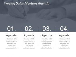 weekly_sales_meeting_agenda_powerpoint_slide_presentation_sample_Slide01