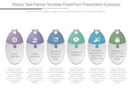 Weekly Task Planner Template Powerpoint Presentation Examples