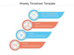 Weekly Timesheet Template Ppt Powerpoint Presentation Ideas Cpb