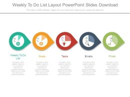Weekly To Do List Layout Powerpoint Slides Download