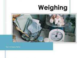 Weighing Electronic Consumer Products Measuring Machine
