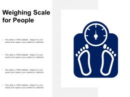Weighing Scale For People