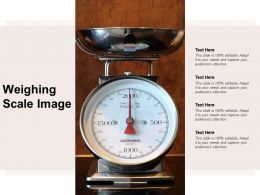 Weighing Scale Image