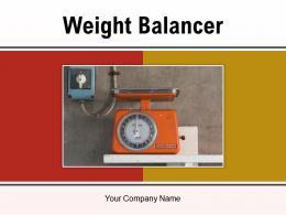 Weight Balancer Measurement Measuring Horizontal Measure Representative