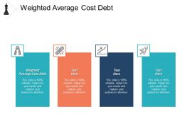Weighted Average Cost Debt Ppt Powerpoint Presentation Infographic Template Format Cpb