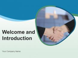Welcome And Introduction Businessman Isolated Gear Employees