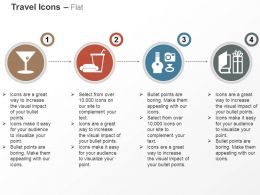 Welcome Drink Fast Food Basic Amenities Ppt Icons Graphics