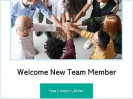 Welcome New Team Member Instructing Management Organization Induction Employee