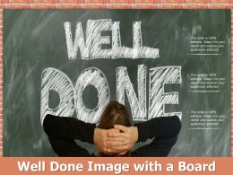 Well Done Image With A Board
