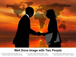 Well Done Image With Two People