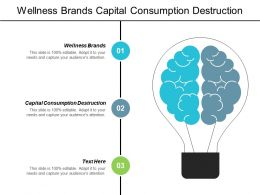 Wellness Brands Capital Consumption Destruction Corporate Employee Engagement Cpb