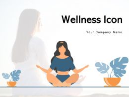 Wellness Icon Financial Surrounded Indicating Physical Relaxation Medication Individual