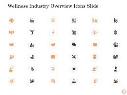 Wellness Industry Overview Icons Slide Ppt Summary Information