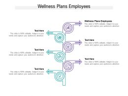 Wellness Plans Employees Ppt Powerpoint Presentation Infographic Template Skills Cpb