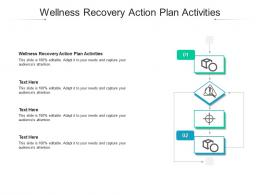 Wellness Recovery Action Plan Activities Ppt Powerpoint Presentation Icon Guidelines Cpb