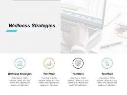 Wellness Strategies Ppt Powerpoint Presentation Inspiration Example Introduction Cpb