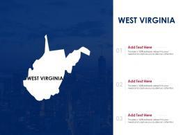 West Virginia Powerpoint Presentation PPT Template
