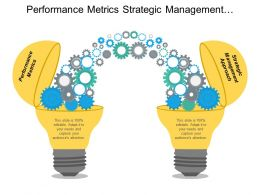 What Are Performance Metrics Strategic Management Approach Problem Solutions Cpb
