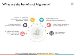 What Are The Benefits Of Alignment Ppt Powerpoint Presentation File Background Designs