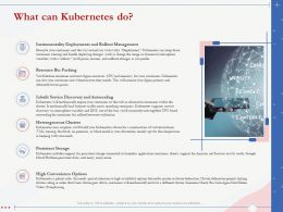 What Can Kubernetes Do Convenience Options Ppt Powerpoint Presentation Sample