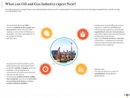 What Can Oil And Gas Industry Expect Next Operating Performance Ppt Diagrams