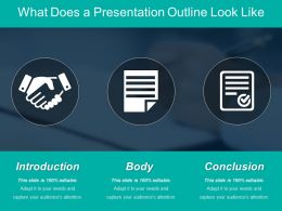 What Does A Presentation Outline Look Like Ppt Image