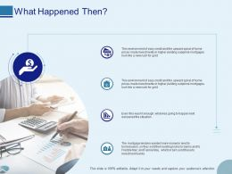 What Happened Then Ppt Powerpoint Presentation Inspiration Format