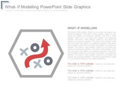 What If Modelling Powerpoint Slide Graphics