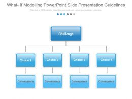 What If Modelling Powerpoint Slide Presentation Guidelines