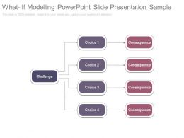 What If Modelling Powerpoint Slide Presentation Sample