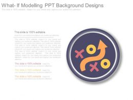 What If Modelling Ppt Background Designs
