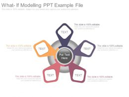 What If Modelling Ppt Example File