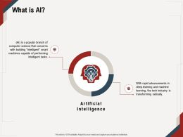 What Is AI Capable M667 Ppt Powerpoint Presentation Ideas Infographic Template